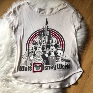Vintage Walt Disney Parks Graphic Top